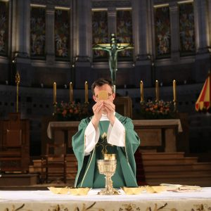 Messe basilique sainte therese